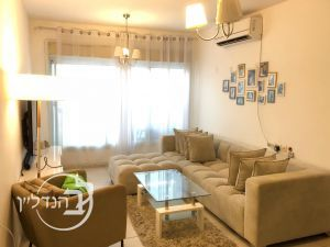 For rent apartment 2.5 rooms with gorgeous view to the sea in a Ashdod