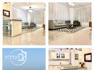 For sale apartment 3.5 rooms stunning with views to the sea in the marina of Ashdod