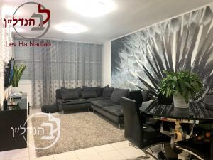 For rent apartment 3.5 rooms beautiful in the' Ashdod
