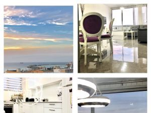 For rent apartment 3 rooms with sea view in a Ashdod